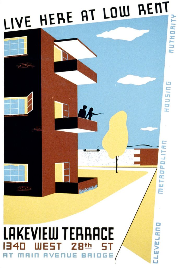 Live Here At Low Rent Wpa Poster Ca 1938 Wpa Posters Wpa Works Progress Administration