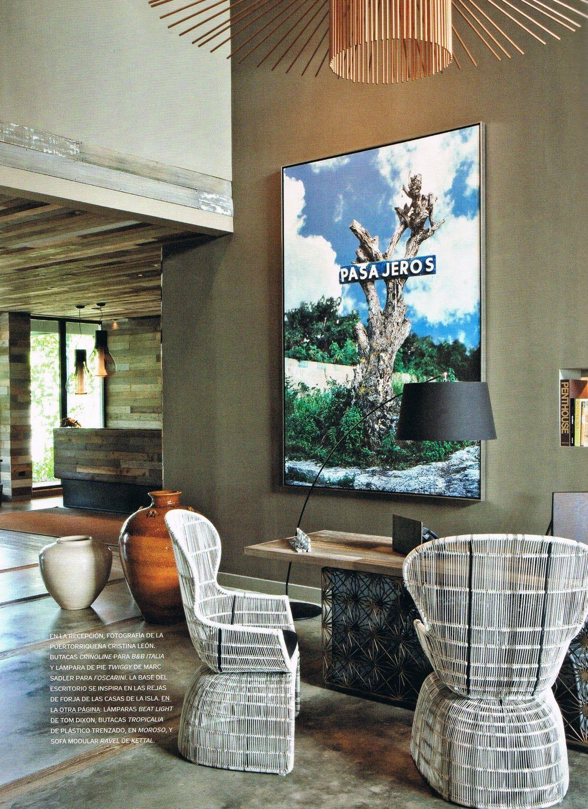 the decorator: Urquiola Carribean Island Retreat