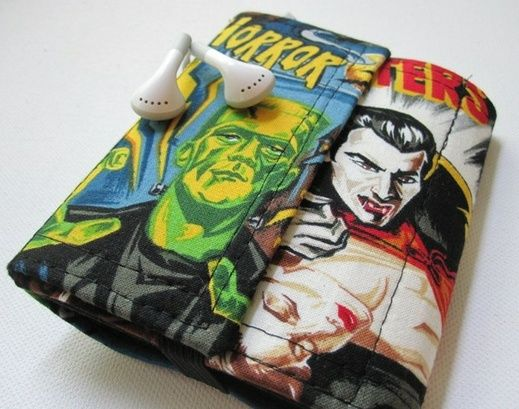 I totally need this since I lose EVERYTHING.. Nerd Herder gadget wallet in Monstrous #redditgifts