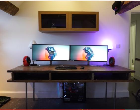 office decks. MarzBar Office Desk Setup Decks O