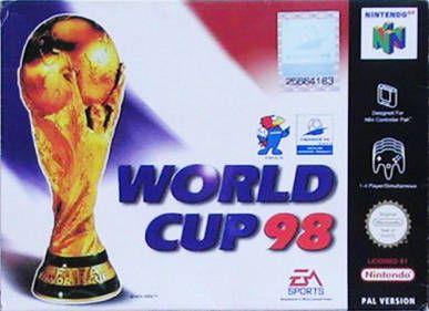 World Cup 98 Nintendo 64