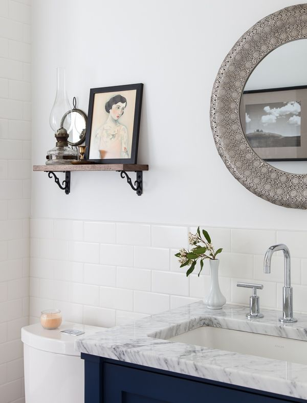 The 25 Best Fresh Modern Bathroom With White Subway Tiles