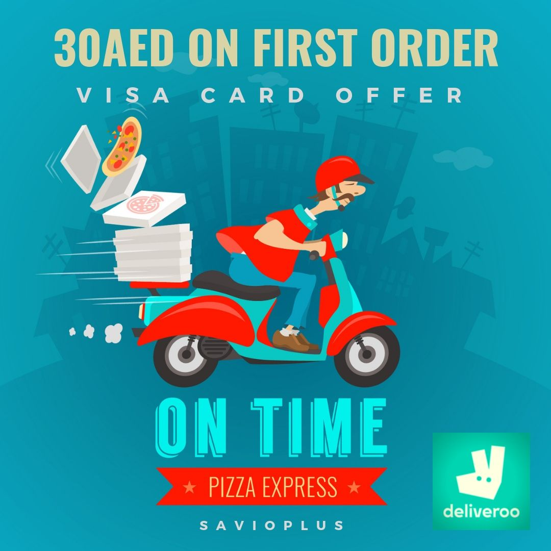 Visa Card Offer Aed 30 Discount On First Order Now Get Aed