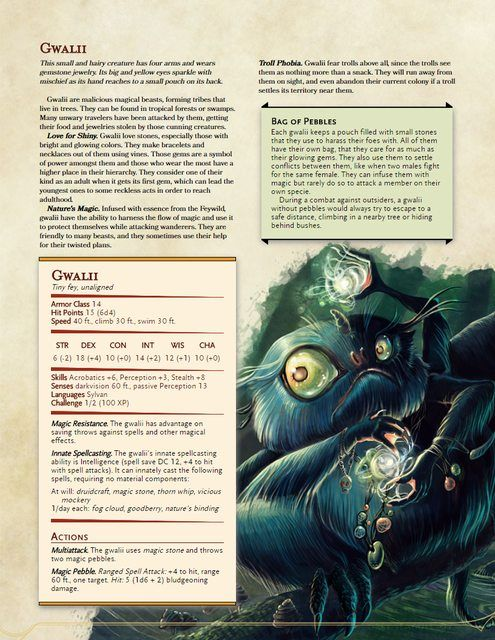 Lynesth S Book Of Wonderful Creatures V0 2 New Creatures Included Dungeons And Dragons Homebrew Dnd Monsters D D Dungeons And Dragons
