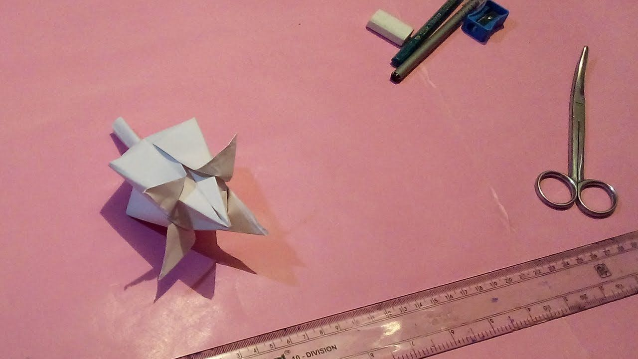 How To Make A Lotus Flower With Paper Step By Step Origami