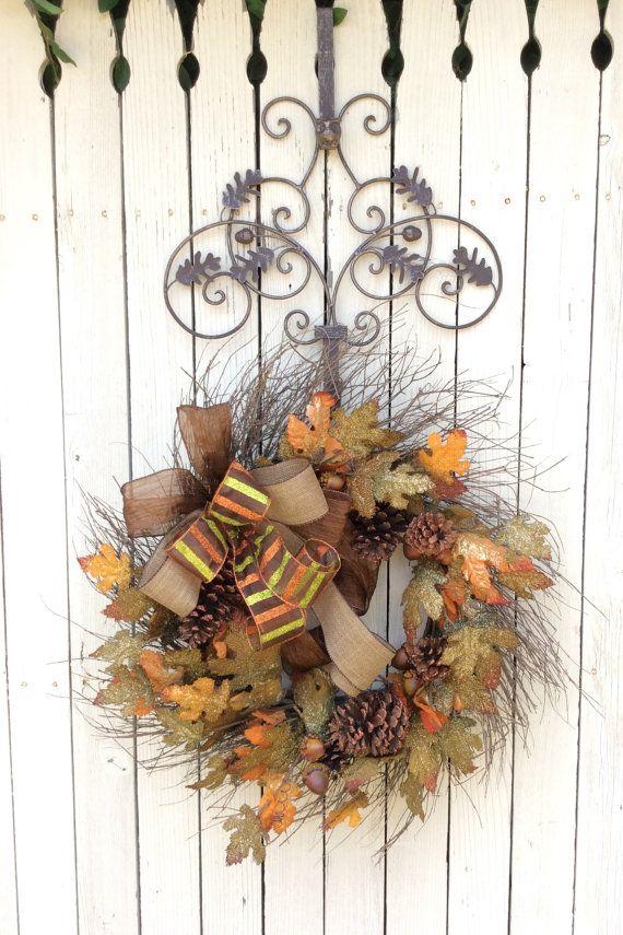 Superbe Wreath Hanger, Wreath Holder, Wreath Hook, Hanger For Wreaths, Metal Wreath  Hanger