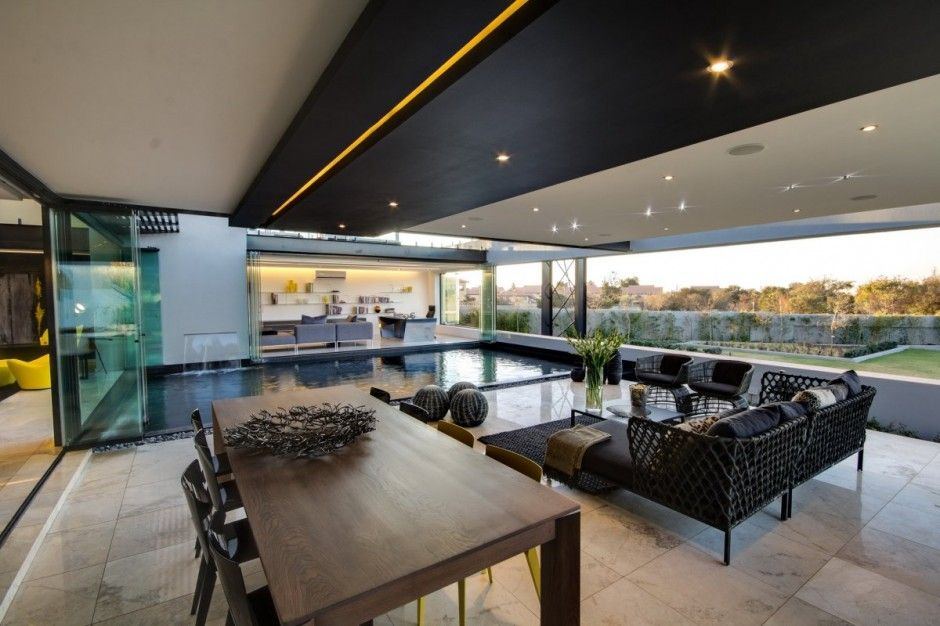 Awesome Home Architecture Ber House In Midrand South Africa By - Ber house in south africa