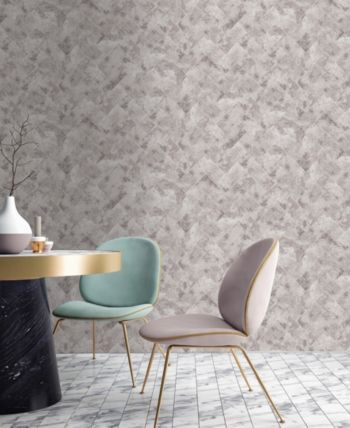 Travertino Taupe Wallpaper In 2019 Products Brown Wallpaper