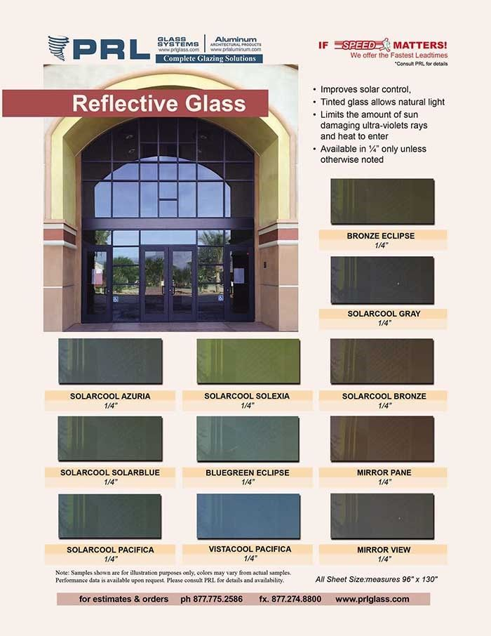 Prl Reflective Glass Architecture Glass Reflective