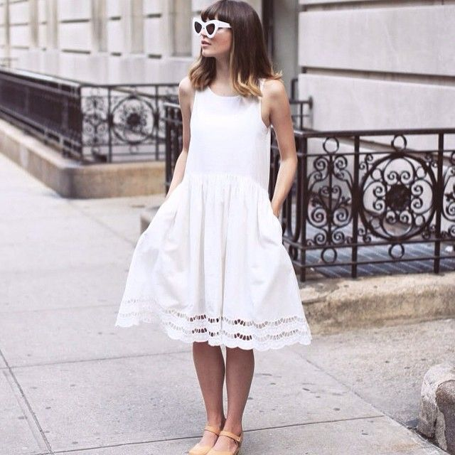 White dress Pepaloves