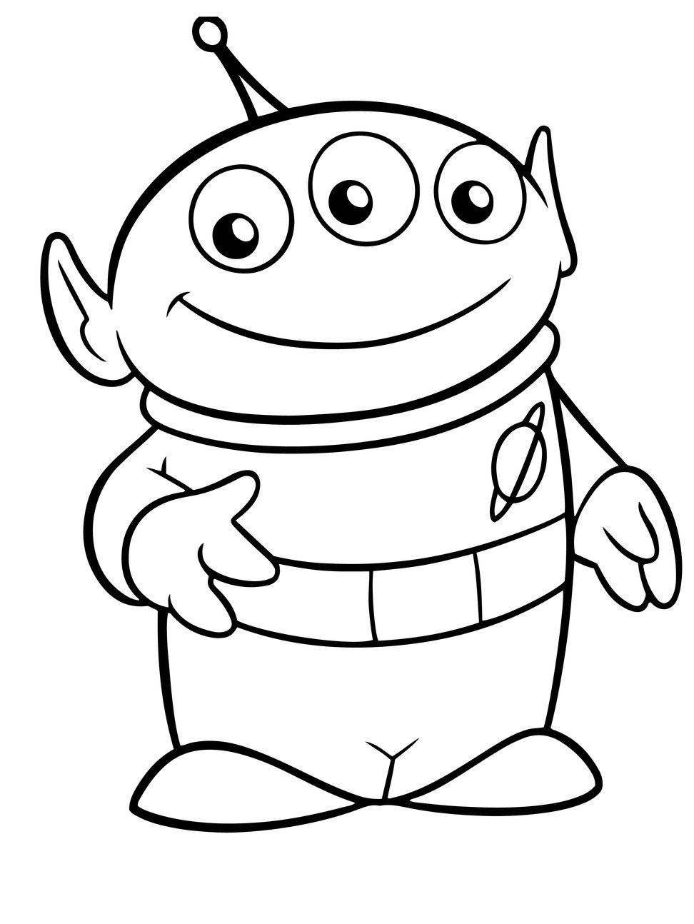 Toy Story Aliens Coloring Pages Best Coloring Pages For Kids Toy Story Coloring Pages Coloring Pages Toy Story Alien