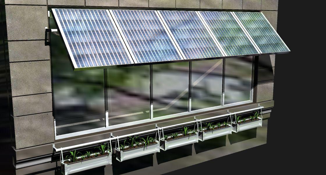 Solar Awning Sufficientself Com Solar Pinterest