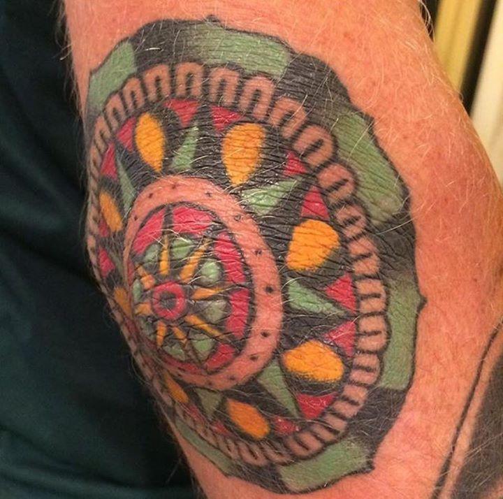 Healed tattoo by ryan from atlanta tattoo kingdom tattoo