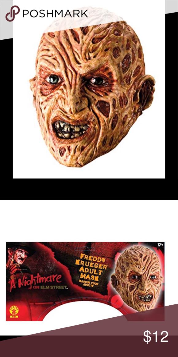 Freddy Krueger Nightmare On Elm Street Mask Rubie S Nightmare On Elm Street Mask It Has A Pull On Clos Nightmare On Elm Street Freddy Krueger Elm Street