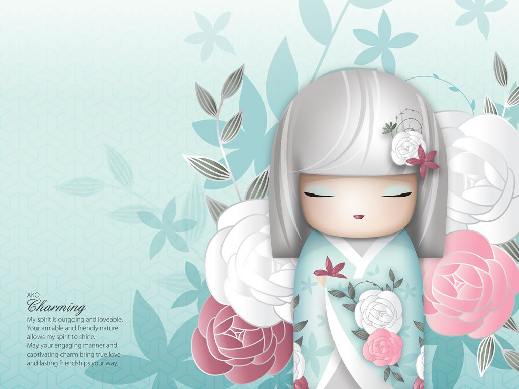 Kimmidoll wallpaper buscar con google kimidoll - Cute asian cartoon wallpaper ...