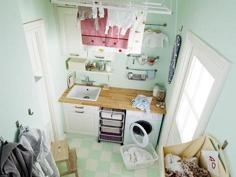 Cuarto de lavar Ikea | Laundry Room | Ikea laundry room ...