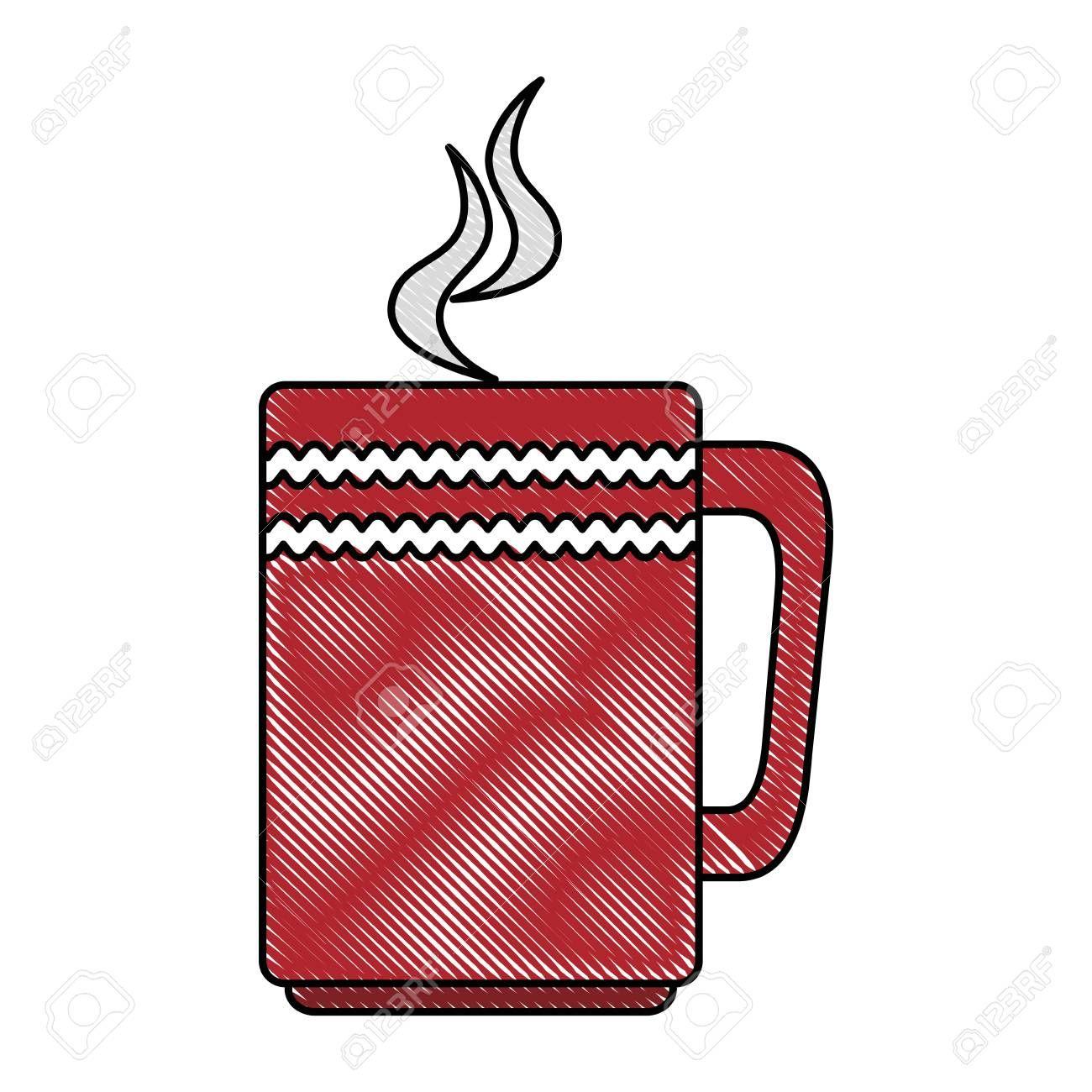 coffee mug isolated icon vector illustration design Illustration