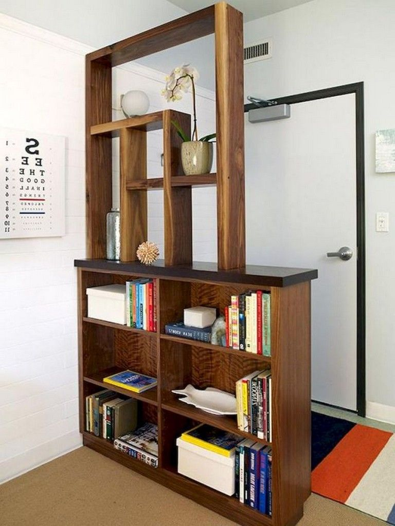 90 Luxury Room Divider Ideas For Small Spaces Bookshelf Room