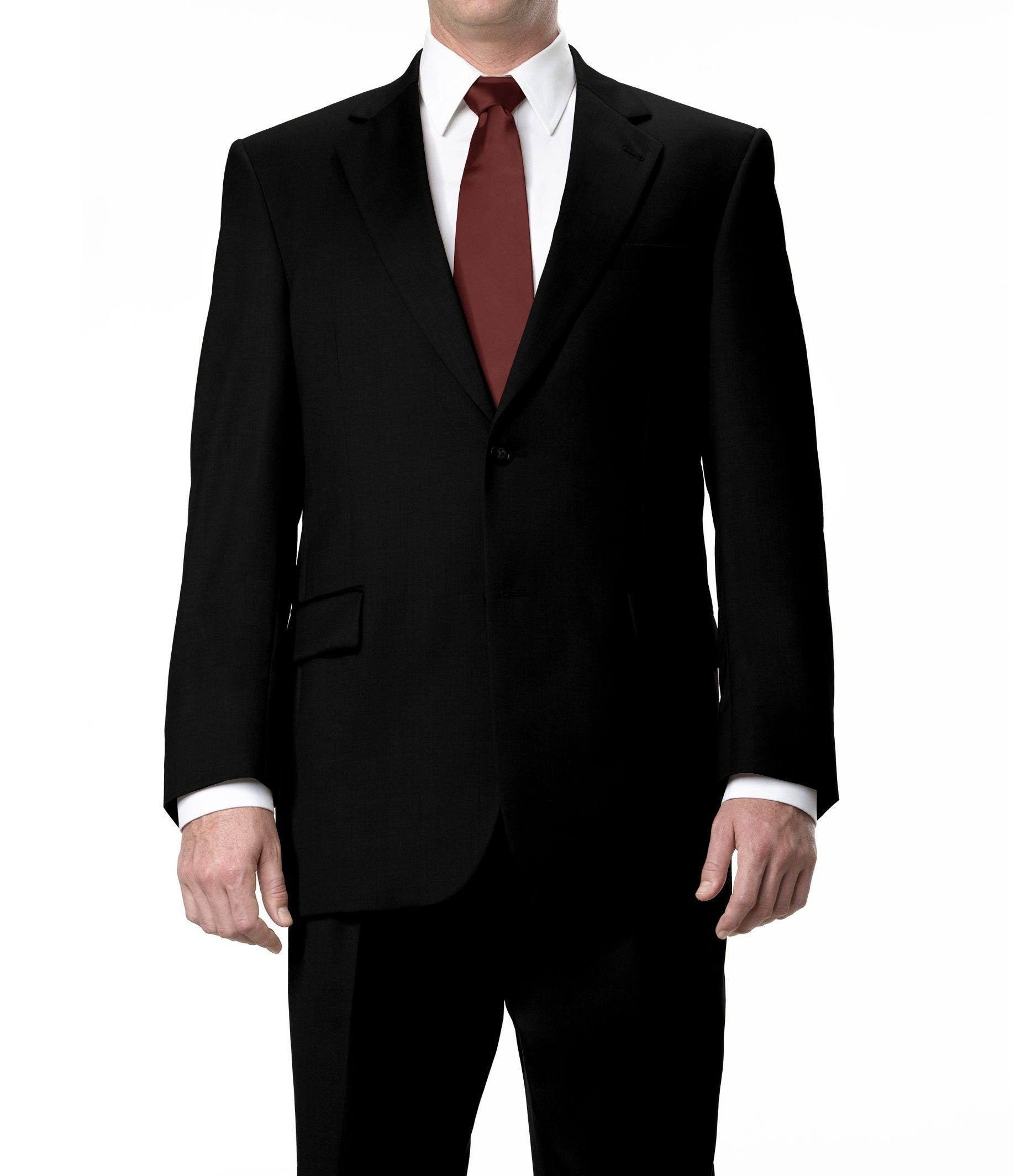 Signature Collection Regal Fit Herringbone Suit CLEARANCE