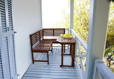 Merxx Gartentisch Holz Eukalyptusholz Klappbar 90x50 Cm