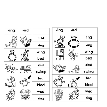 Name Word Work Word Families Literacy Centers
