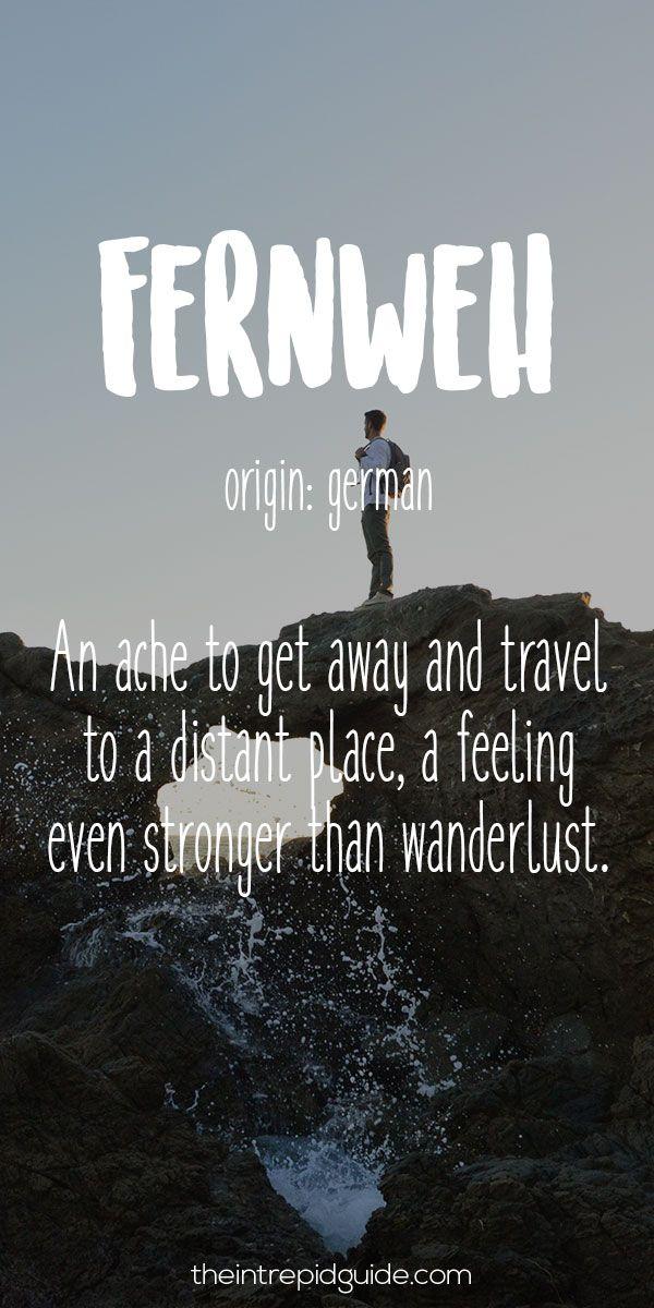 Downloadable German Tattoo Sayings: 28 Beautiful Travel Words That Describe Wanderlust