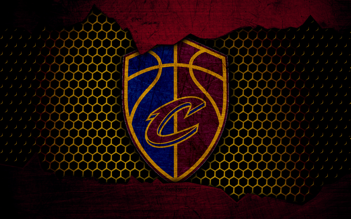 Download Wallpapers Cleveland Cavaliers, 4k, New Logo, NBA