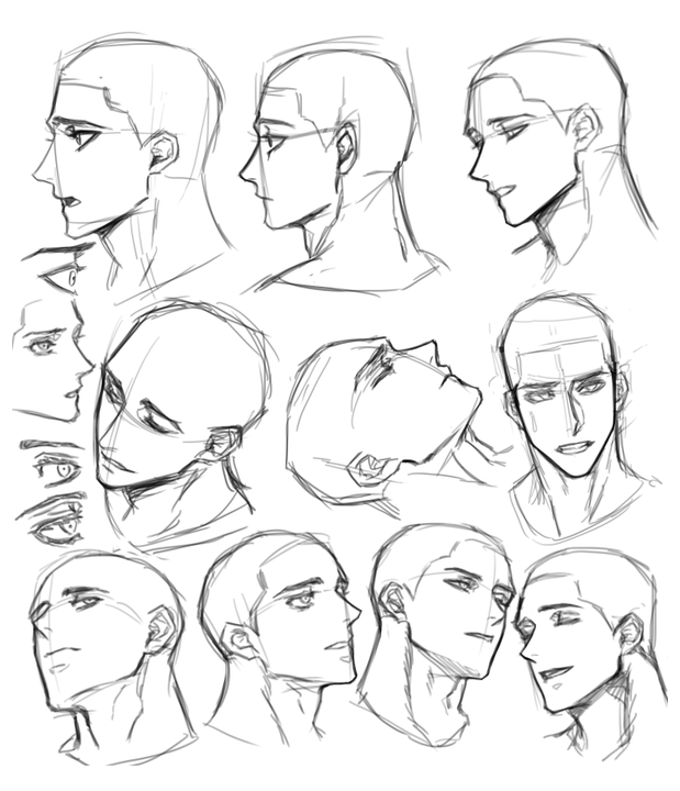 Male Face Drawing Reference Male Face Drawing Reference In 2020 Face Drawing Reference Male Face Drawing Anime Poses Reference