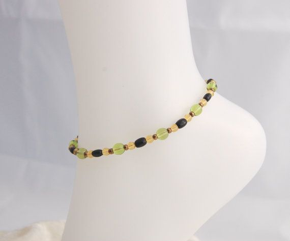 Check out this item in my Etsy shop https://www.etsy.com/listing/230738187/czech-glass-and-seed-bead-anklet