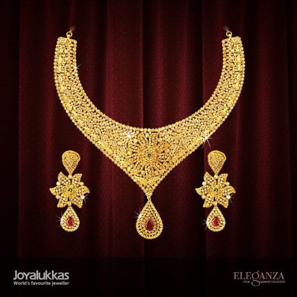 eleganza sets joyalukkas jewels gold