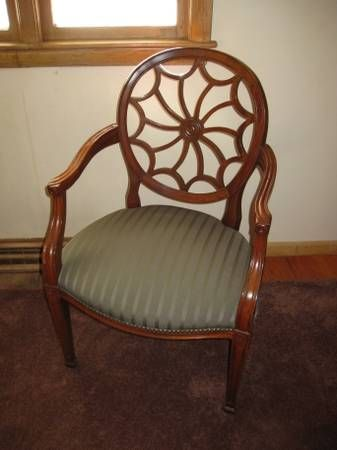 Hickory Chair Company Spiderback Occasional Chair