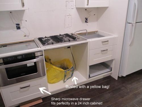 ikea kitchen microwave cabinet home decor