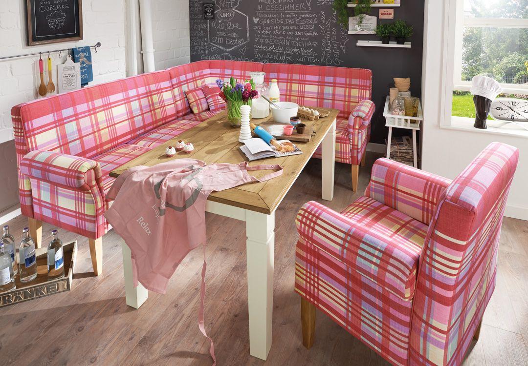 Ob Eckbank oder einfach nur Tischsofa und Stuhl-Sessel: mit TRIEST ...