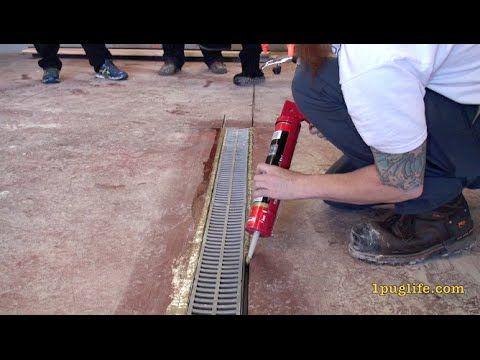 Garage Floor Drain Ideas Floor Drains Concrete Floors Garage Floor