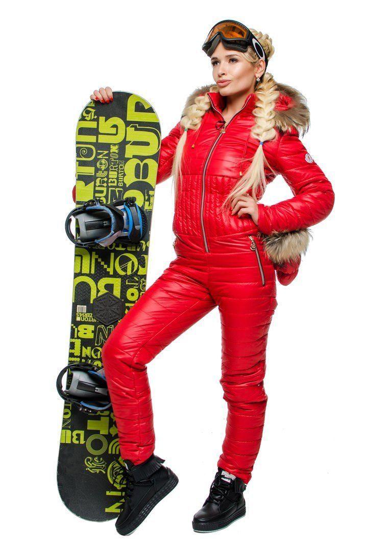 b641a9783c Womens Winter Jumpsuit Tracksuit Romper Overall Ski Sport Warm Playsuit Fur