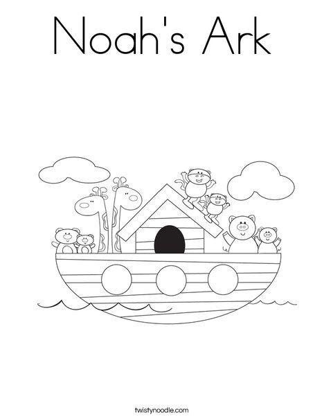 Noah S Ark Coloring Page Noahs Ark Preschool Noahs Ark Coloring Pages