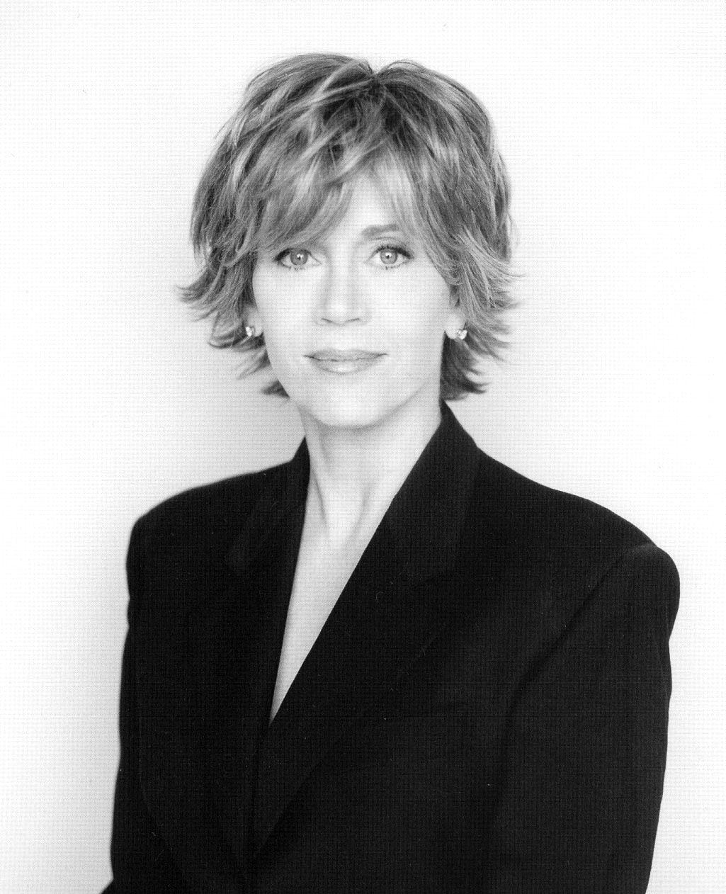 Jane Fonda Her Famous Hair Style Frisuren Pinterest Frisuren