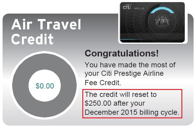 Citi Prestige 開箱文 Travel credit, Air travel, Congratulations