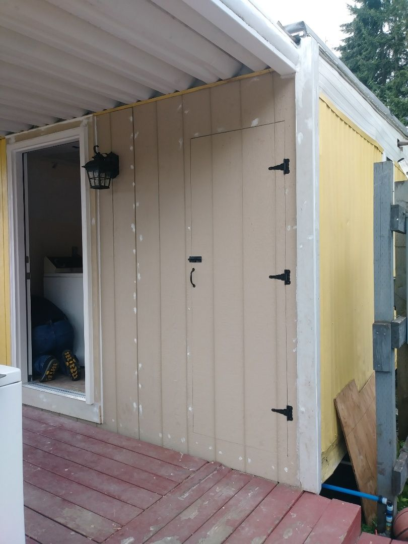 Drywall Patch Around Fuse Box Exterior Door Installed Hot Water Heater Door Installation Exterior Doors Hot Water Heater