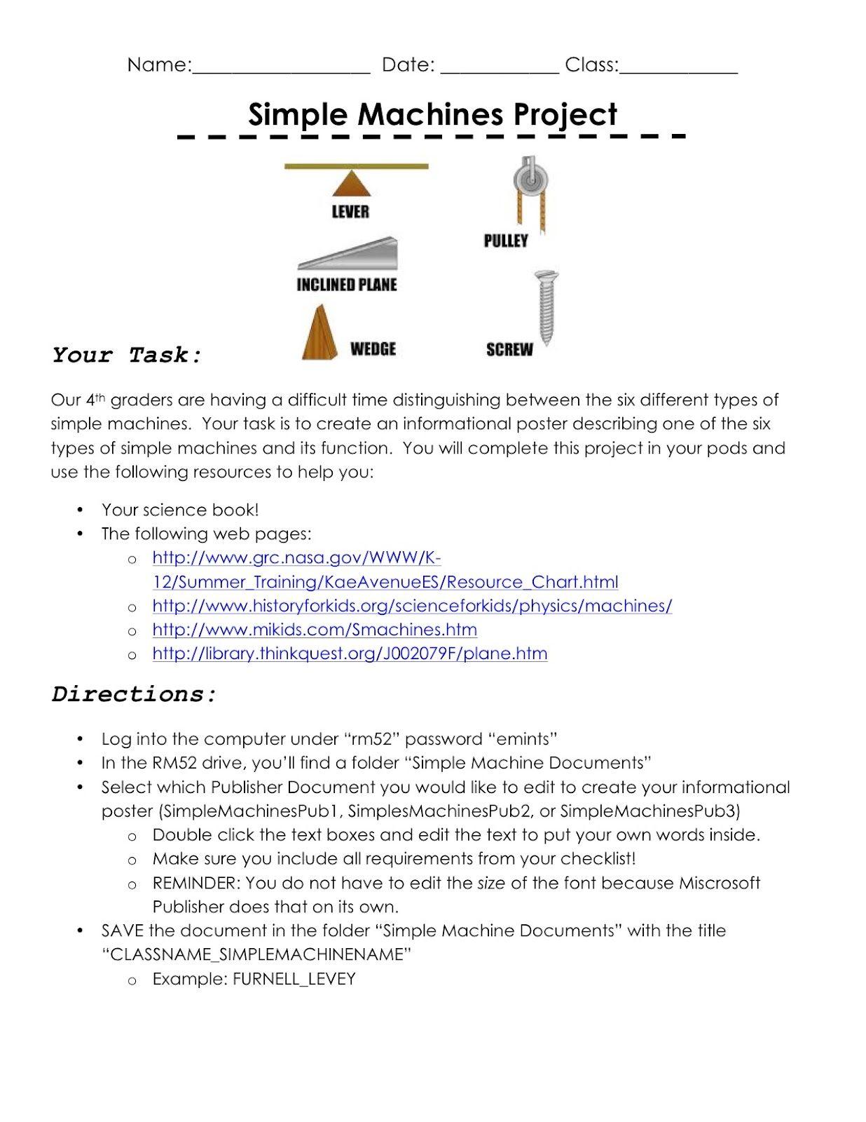 worksheet Bill Nye Simple Machines Worksheet simple machines humor pinterest and humor