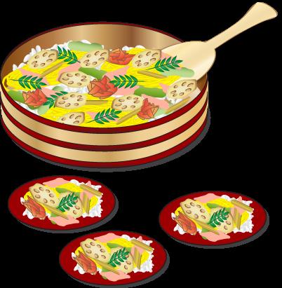 春の食べ物 無料イラスト ダウンロード png 春菜寿司 春菜寿司イラスト 寿司 イラスト 寿司 食べ物