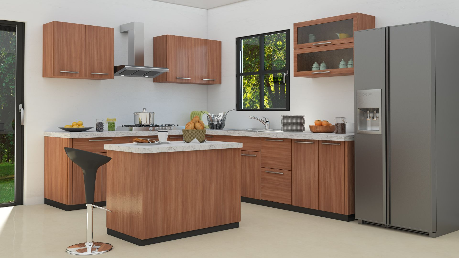 Http Www Customfurnish Com Modular Kitchens Kitchen Cabinet