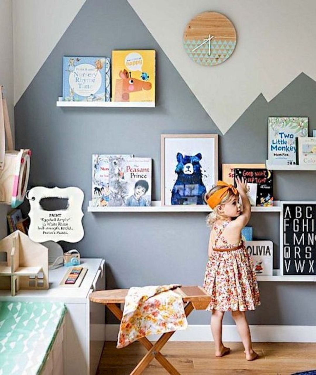 Best Charming Kid's Room Decor Ideas   Room decor, ed bedrooms ... on hide television design ideas, bedroom designs, western bedroom ideas, bedroom wall art, shelving ideas, bedroom shelf for candles, storage for small bedrooms ideas, beautiful bedroom ideas,