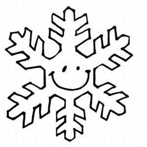 snowflake coloring pages 1 - Snowflake Coloring Pages Kids
