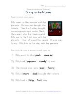 , Beginner Reading Comprehension Worksheet – At the Beach   All Kids Network, Family Blog 2020, Family Blog 2020
