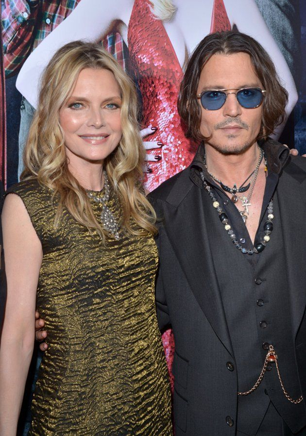 Michelle Pfeiffer and Johnny Depp defy their age at the