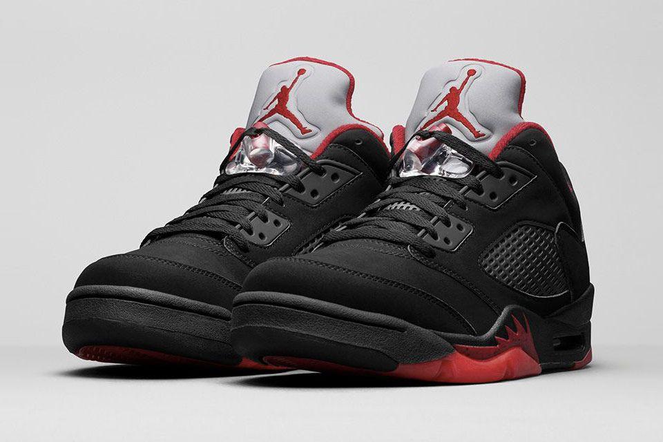 """best sneakers 56097 62ff5 Air Jordan V Retro Low """"Alternative"""" Release Date  Saturday, January 30"""