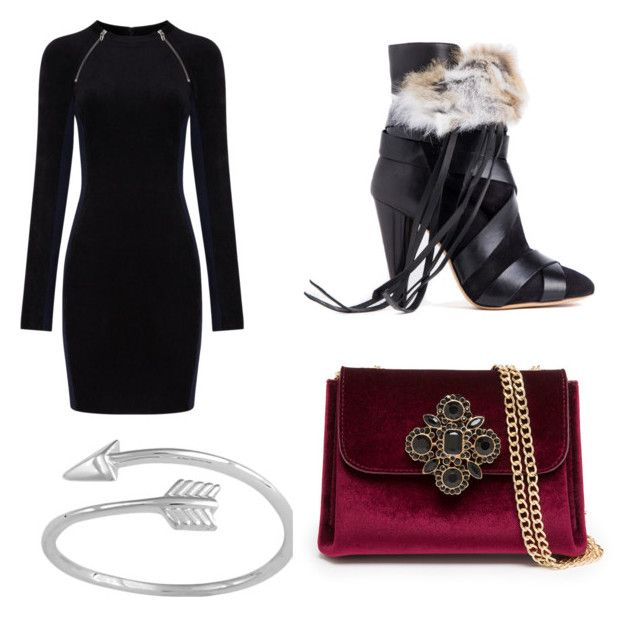 """""""Untitled #817"""" by marta-moreno-1 ❤ liked on Polyvore featuring T By Alexander Wang, Isabel Marant and Bebe"""