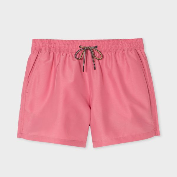 ca0504c690 Paul Smith Men's Pink Swim Shorts | Mens Swimsuits