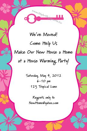 Housewarming Party Invites Love What It Says Home Sweet